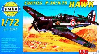 Curtiss P-36/H.75 Hawk 1/72 [Smer]