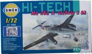 Messerschmitt Me 262 A-1a / Avia S 92 (Hi-Tech) 1/72 [Smer]