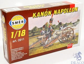 "Kanón ""NAPOLEON""  1/18 [Smer]"