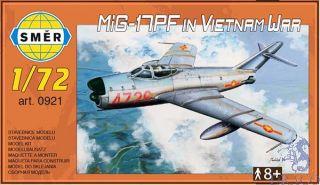 MiG-17PF in Vietnam War 1/72 [Smer]