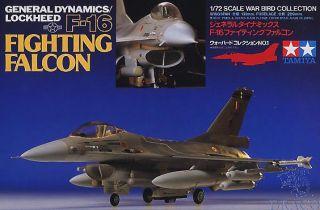 General Dynamics / Lockeed F-16 Fighting Falcon 1/72 [Tamiya]