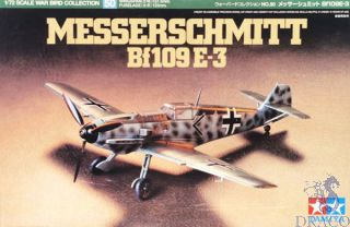 Messerschmitt Bf 109 E-3 1/72 [Tamiya]