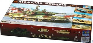 M1A1/A2 Abrams 5in1 1/35 [Trumpeter]