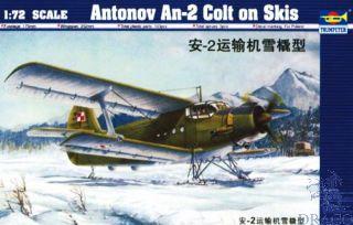 Antonov An-2 Colt on Skis 1/72 [Trumpeter]