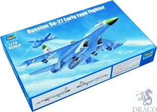 Russian Su-27 Early Type Fighter 1/72 [Trumpeter]