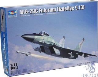 MiG-29 C Fulcrum (Izdelje 9.13) 1/72 [Trumpeter]