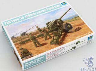 PLA Type 59 130 mm towed Field Gun 1/35 [Trumpeter]