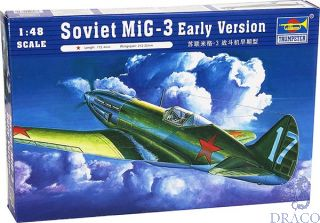 MiG-3 Early Version 1/48 [Trumpeter]