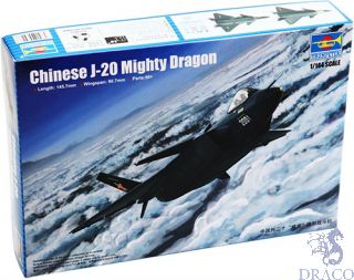 Chinese J-20 Mighty Dragon 1/144 [Trumpeter]