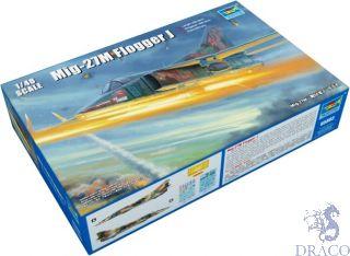 Russian MIG-27M Flogger J 1/48 [Trumpeter]