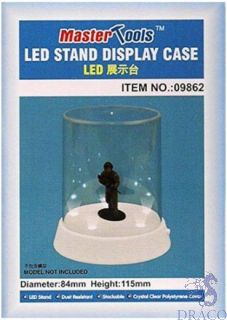 Led Stand Display Case 84mm dia 155mm height [Trumpeter]
