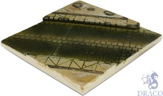 Vallejo Diorama Bases 001: Paved street section 14x14 cm 1/35