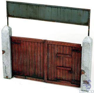 Vallejo Diorama Accessories 006: Village Gate 15x15 cm 1/35