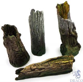 Vallejo Diorama Accessories 303: Large Tree Stumps (4 pcs.) 1/35