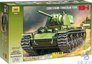 Soviet Heavy Tank KV-1 1/35 [Zvezda]