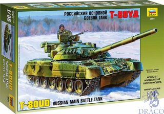 T-80UD Russian Main Battle Tank 1/35 [Zvezda]