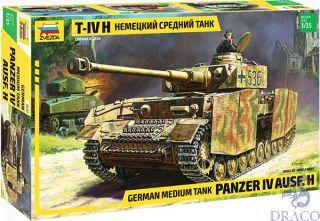German Medium Tank Panzer IV Ausf. H 1/35 [Zvezda]