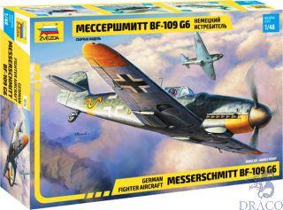 German Fighter Aircraft Messerschmitt Bf-109 G6 1/48 [Zvezda]