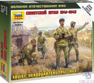 Soviet Headquarters 1941-1943 1/72 [Zvezda]