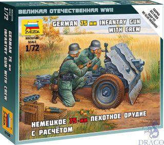 German 75-mm Infantry Gun 1/72 [Zvezda]