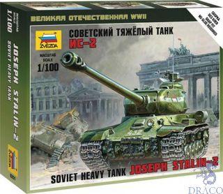Soviet Heavy Tank Joseph Stalin - 2 1/100 [Zvezda]