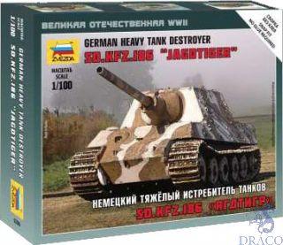 German Heavy Tank Destroyer Sd.Kfz.186 Jagdtiger 1/100 [Zvezda]