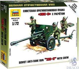 Zis - 3 Soviet Gun 1/72 [Zvezda]