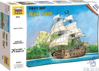 """Pirate Ship """"Black Swan"""" 1/350 [Zvezda]"""