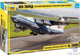 Russian Strategic Airlifter IL-76MD 1/144 [Zvezda]