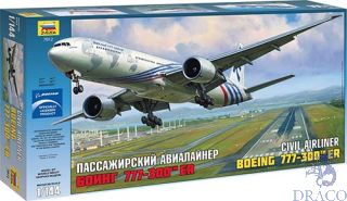 Boeing 777-300ER 1/144 [Zvezda]
