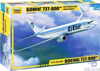 Civil Airliner Boeing 737-800 1/144 [Zvezda]