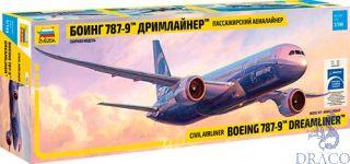 Civil Airliner Boeing 787-9 Dreamliner 1/144 [Zvezda]