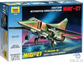"MIG-27 ""Flogger-D"" Soviet Fighter Bomber 1/72 [Zvezda]"
