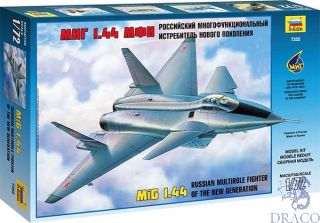 Russian Multirole Fighter of the New Generation MiG 1.44 1/72 [Zvezda]