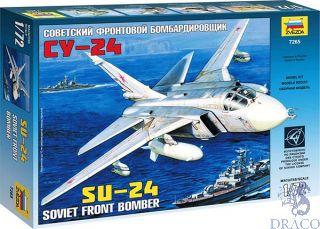 Soviet Front Bomber SU-24 1/72 [Zvezda]