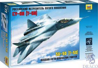 Russian Fight-Generation Fighter SU-50 (T-50) 1/72 [Zvezda]
