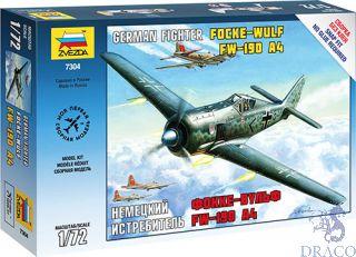 German Fighter Focke Wulf FW-190 A4 1/72 [Zvezda]