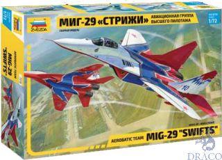 """MIG-29 """"Swifts"""" 1/72 [Zvezda]"""