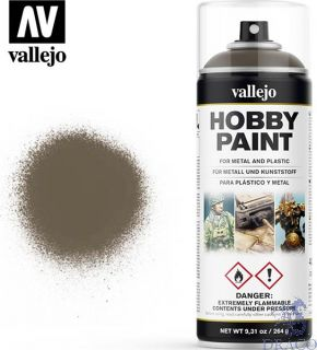Vallejo Hobby Paint 005: US Olive Drab AFV Color Primer 400 ml.