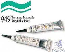 Vallejo Gutta Contour 949: Turquoise Pearl 20ml.