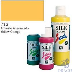 Vallejo SilkColor 713: Yellow Orange 60 ml.