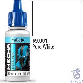 Vallejo Mecha Color 001: Pure White 17 ml.