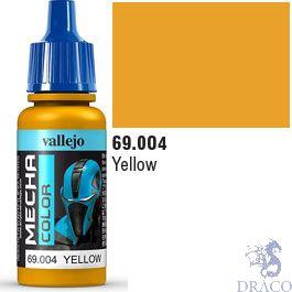 Vallejo Mecha Color 004: Yellow 17 ml.