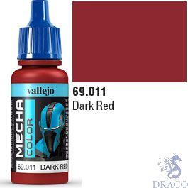 Vallejo Mecha Color 011: Dark Red  17 ml.