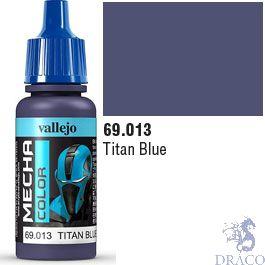 Vallejo Mecha Color 013: Titan Blue 17 ml.