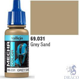 Vallejo Mecha Color 031: Grey Sand 17 ml.