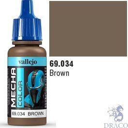 Vallejo Mecha Color 034: Brown 17 ml.