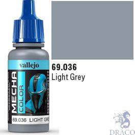 Vallejo Mecha Color 036: Light Grey 17 ml.