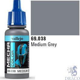Vallejo Mecha Color 038: Medium Grey 17 ml.