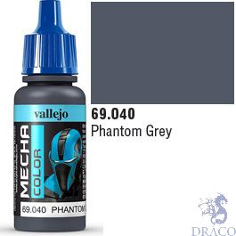 Vallejo Mecha Color 040: Phantom Grey 17 ml.